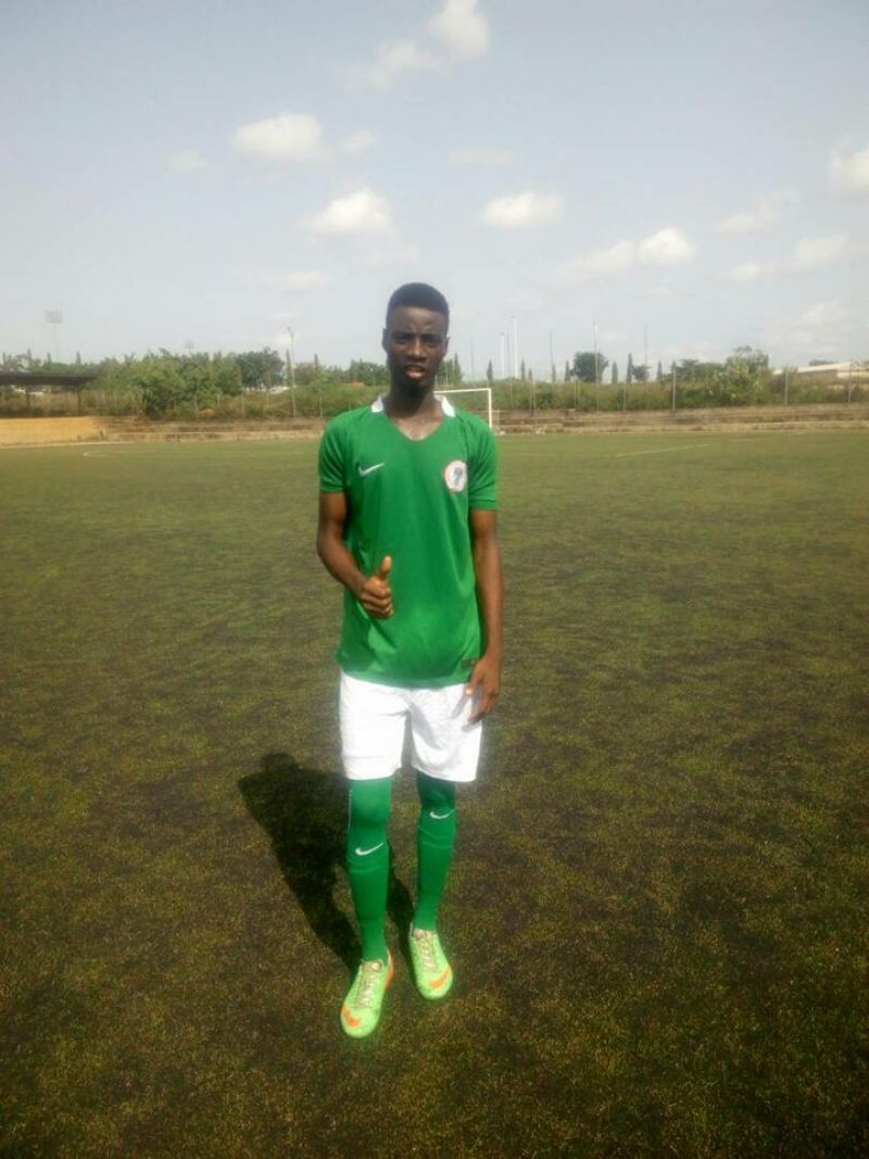 Photos shows Adeniyi