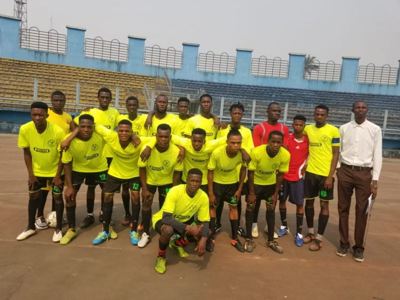 Photo shows Benin Warriors squad in Sapele,January 2020