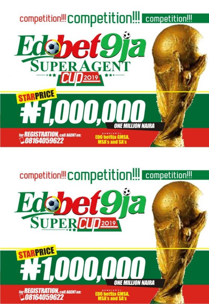 Bet9ja ready to shake Edo State with 1m naira Super Agents