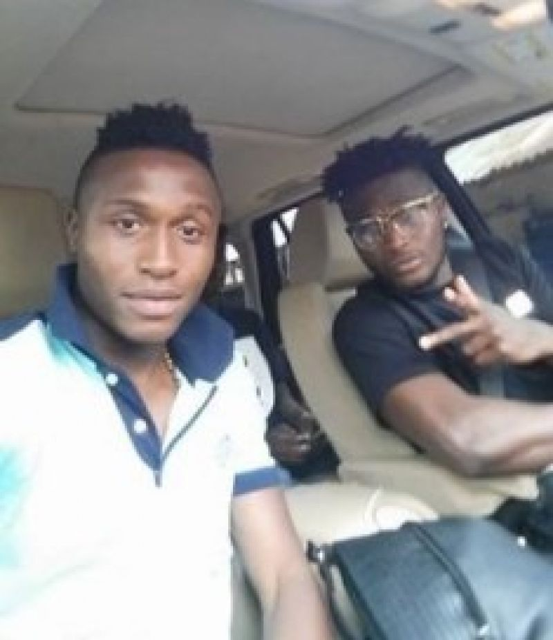 Photo shows Goodness Ajayi and brother Isaac Success