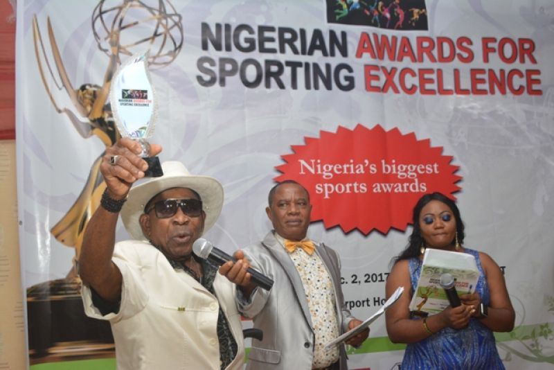 IMAGES of the Nigerian Awards for Sporting Excellence (NASE) organized by Daily Sports online newspaper, held on Saturday night, Dec. 2, 2017, at the Osun Hall of Airport Hotel, Ikeja, Lagos.