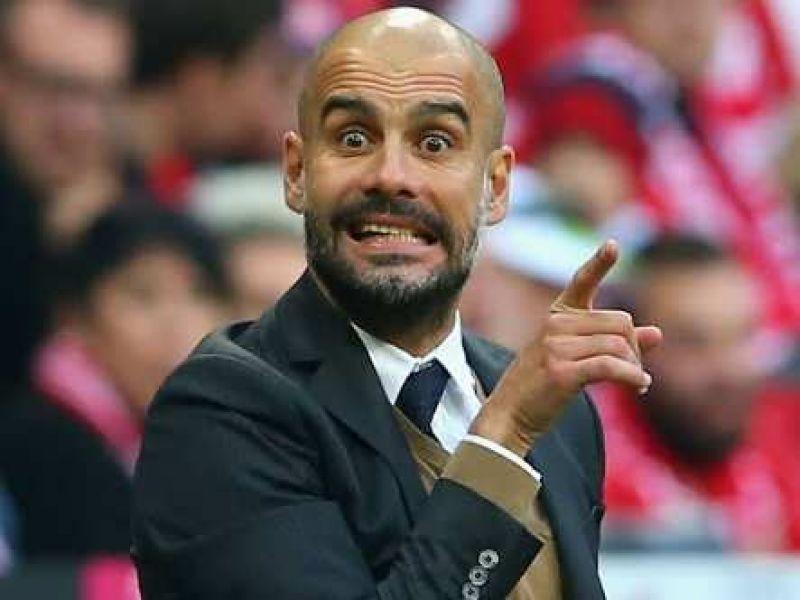 Image result for guardiola shocked